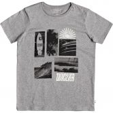 Quiksilver - Like Water T-Shirt Jungen medium grey heather