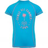 Protest - Twix Jr Rashguard Girls aquamarine
