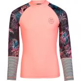 Protest - Spirit Jr Rashguard Mädchen true black