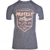 Protest - Geller Jr Rashguard Boys dark grey melee