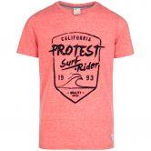 Protest - Everton Jr T-Shirt Jungen poppy red