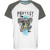 Protest - Gus JR T-Shirt Kids grey green