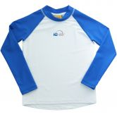 iQ-UV - iQ-UV 300 Youngster Longsleeve white-blue