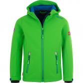 Trollkids - Trollfjord Softshell Jacket Kids dark green