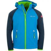 Trollkids - Rondane XT Zip Off Softshelljacke Kinder navy med blue green