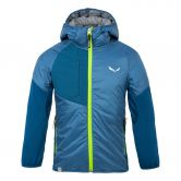 SALEWA - Puez Hybrid TirolWool® Celliant Insulated Jacket Kids poseidon