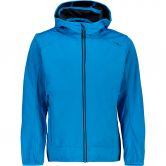 CMP - Fix Hood Jacket Kids cyano