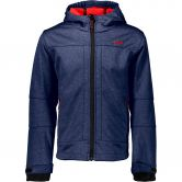 CMP - Softshell Jacket Boys navy melange ferrari