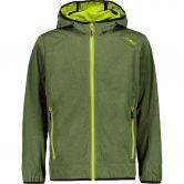 CMP - Light Softshell Jacket Kids green melange