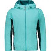 CMP - Light Softshell Jacket Kids turquoise melange