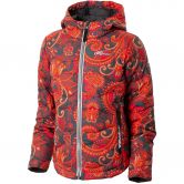 Rehall - Erica Jacket Kids flowers orange
