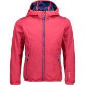 CMP - Light Softshell Jacket Girls rot