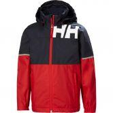 Helly Hansen - JR Pursuit Rain Jacket Kids alert red