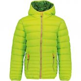 CMP - Quilted Jacket Boys lime green