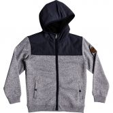 Quiksilver - Keller Mix Sherpa Fleece Jacket Boys blue nights