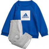 adidas - 3-Streifen Fleece Baby Jogginganzug team royal blue white