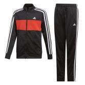 adidas - Tiberio Trainingsanzug Jungen black active red white