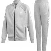 adidas - XFG Trainingsanzug Jungen medium grey heather white