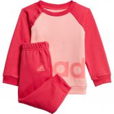 adidas - Linear Fleece Baby Jogginganzug glory pink power pink signal pink