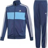 adidas - Tiberio Trainingsanzug Jungen tech indigo lucky blue white