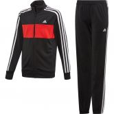 adidas - Tiberio Trainingsanzug Jungen black vivid red white
