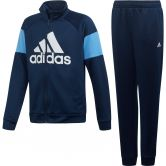 adidas - Badge of Sport Trainingsanzug Jungen collegiate navy real blue white
