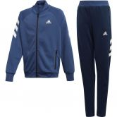 adidas - Trainingsanzug Jungen tech indigo white