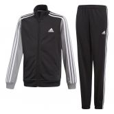 adidas - Tibero Trainingsanzug Jungen black grey three white