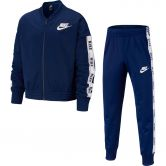 Nike - Tricot Tracksuit Kids blue void white blue