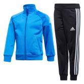 adidas - Little Boys Knitted Trainingsanzug blau schwarz weiß