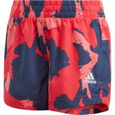 adidas - Woven Shorts Girls pantone core pink tech indigo