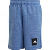 adidas - Must Haves Shorts Jungen blue melange