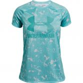 Under Armour - Big Logo Novelty T-Shirt Mädchen neo turquoise azure teal