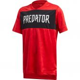 adidas - Predator Allover Print Jersey Boys vivid red