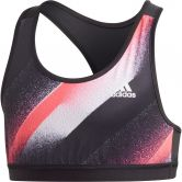 adidas - Unleash Confidence Sports Bra Top Girls black white signal pink