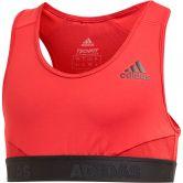 adidas - Alphaskin Sport-BH Mädchen active maroon black