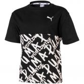 Puma - Alpha AOP T-shirt Girls puma black