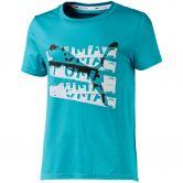 Puma - Runtrain T-shirt Girls milky blue