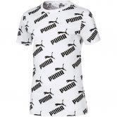 Puma - Amplified AOP T-Shirt Mädchen puma white