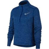 Nike - Longsleeve Half-Zip Running Top Girls indigo force htr reflective si