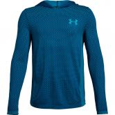 Under Armour - Seamless Hoodie Jungen blau