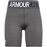 Under Armour - Heatgear Bike Short Girls jet gray light heather