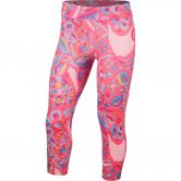 Nike - All In Trainingshose Capri Femme Kinder hyper pink white