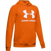 Under Armour - Rival Logo Hoodie Boys orange