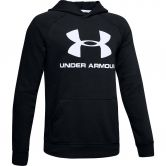 Under Armour - Rival Logo Hoodie Boys black