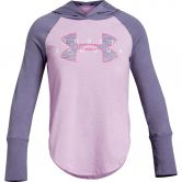Under Armour - Finale Hoodie Girls purple luxe mojo pink