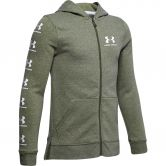 Under Armour - Rival Hooded Jacket Boys guardian green light heather