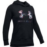 Under Armour - Rival Print Fill Logo Hoodie Girls black