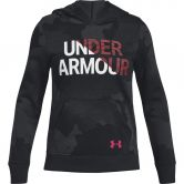 Under Armour - Rival Fleece-Hoodie Girls black