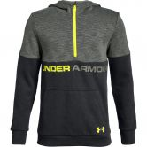 Under Armour - Double Knit 1/2-Zip Hoodie Boys black